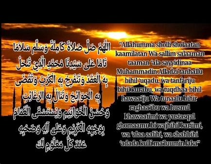 Bacaan sholawat nariyah arab latin dan artinya