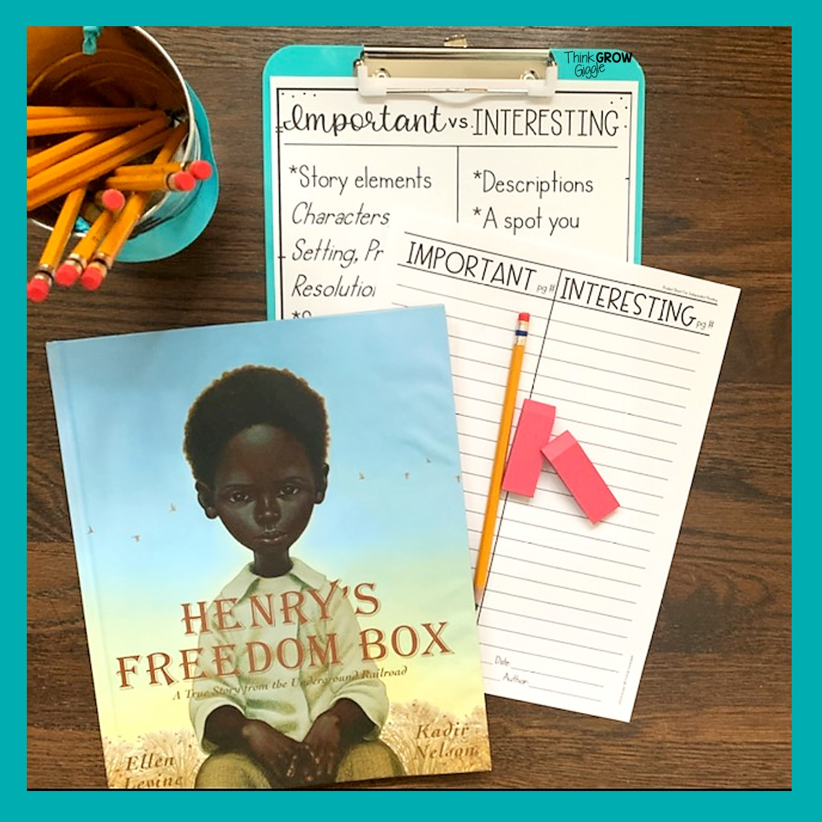 3 Meaningful Reading Activities For Henry S Freedom Box