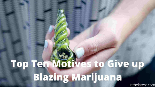 Top Ten Motives to Give up Blazing Marijuana