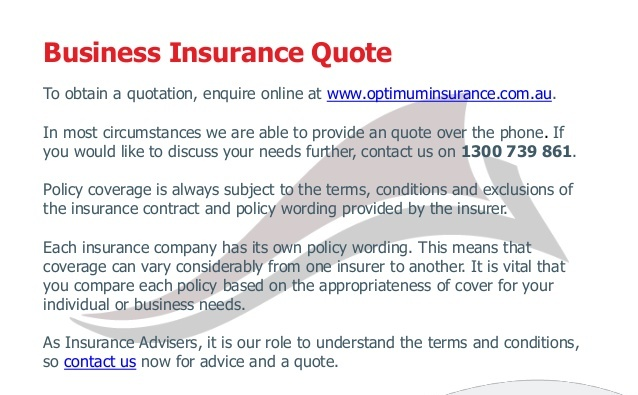 New Business Insurance Quotes: Business Insurance Quotes