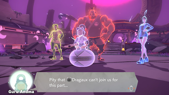 Ring Fit Adventure Four Masters boss fight in Hades Dragaux can't join us