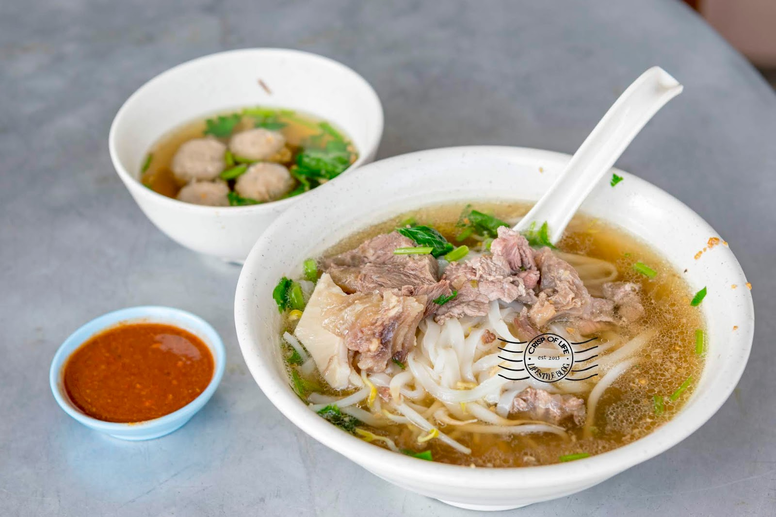 Beef Noodle at Luan Fong, Bagan Luar, Butterworth, Penang