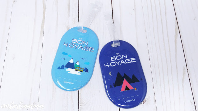 BTS Bon Vogage Season 4 Luggage Tags