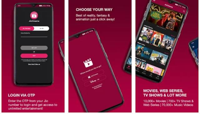 Jio cinema app on PC