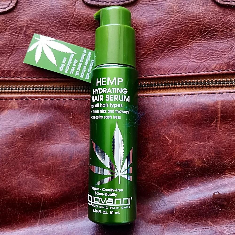 hemp hair serum