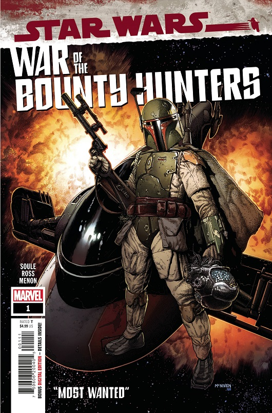 Cover of Star Wars: War of the Bounty Hunters #1