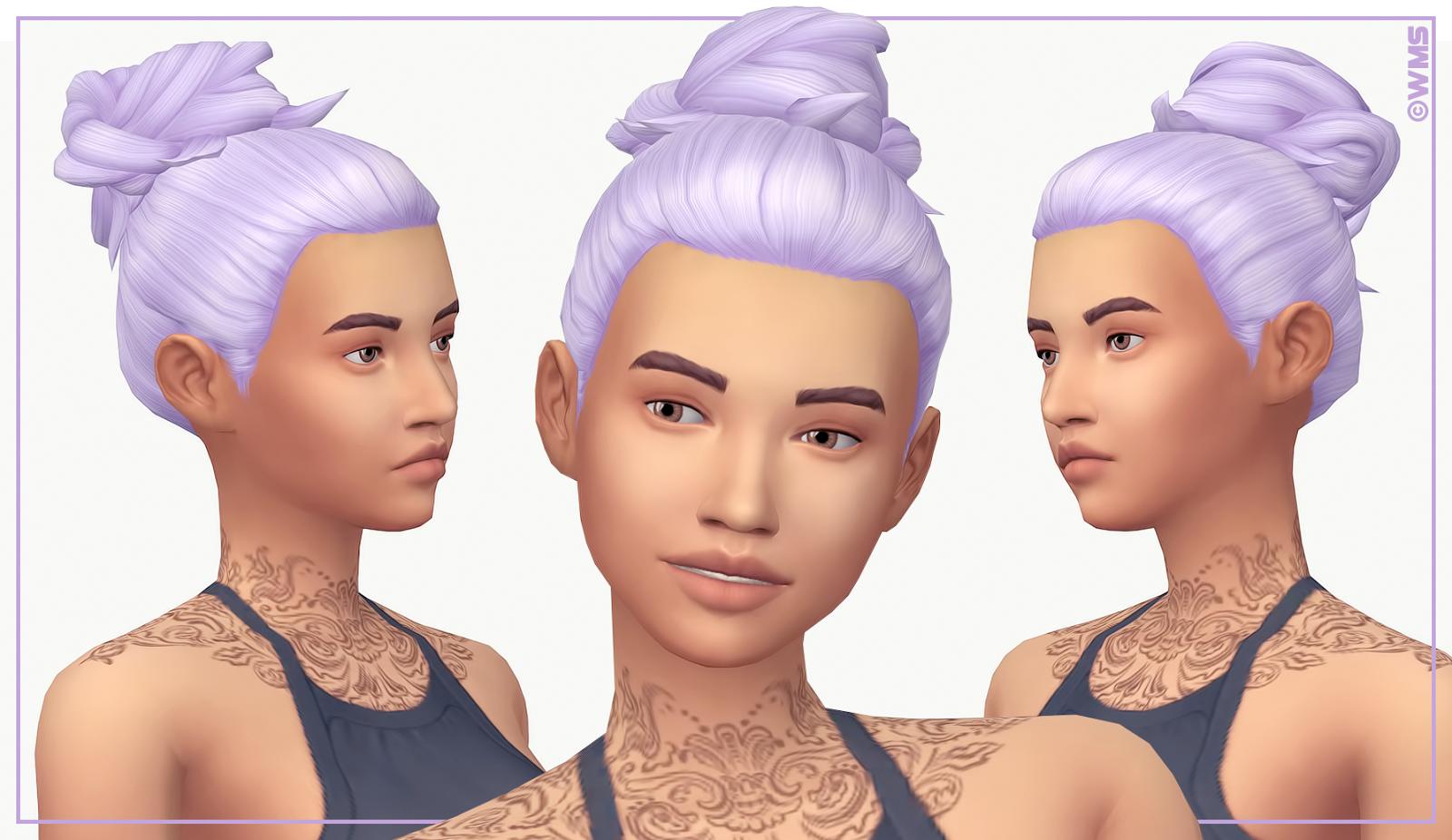 Aria Hair | WildlyMiniatureSandwich