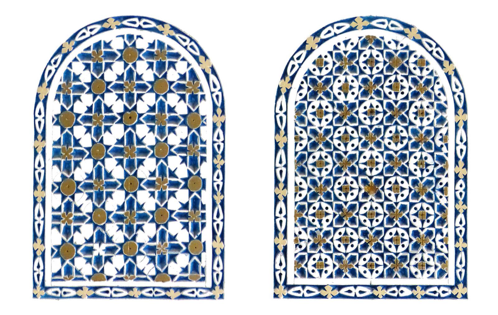 Mosquée Assalam Tourcoing France - Motifs décoratifs