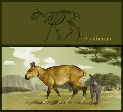 generos extintos de argentina Thoatherium