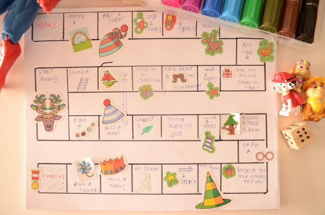 """Let's Go Outside"" Board Game, DIY game by Practical Mom"