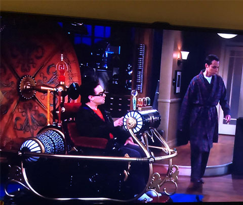 Social isolation -- Dreaming of a time machine (Source: The Big Bang Theory)