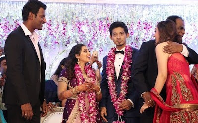 hansika-motwani-at-vishal_sister_wedding-reception
