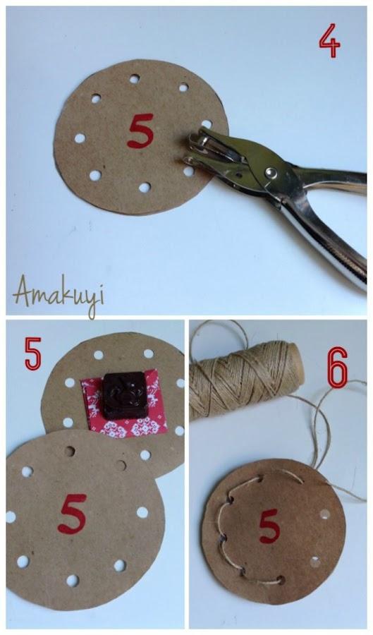 agujeros y números para pasar la cuerda. Cómo se hace
