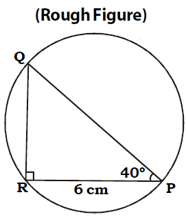 OMTEX CLASSES: 4. Construct a right angled triangle ∆PQR