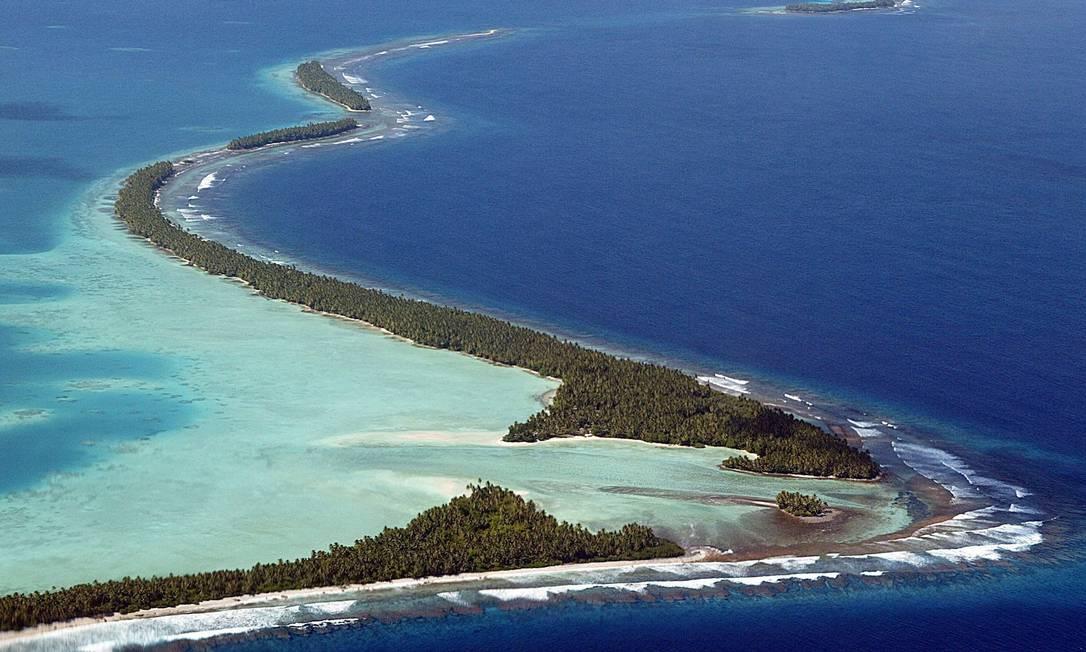 Países em arquipélagos enfrentam perda econômica e o risco de desaparecerem