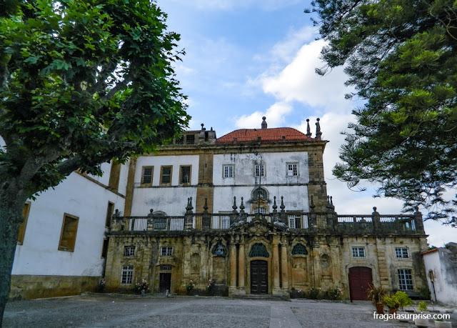 Fachada do Convento de Santa Clara-a-Nova, Coimbra