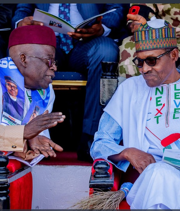 Presidential election result: Tinubu lists what Buhari will
