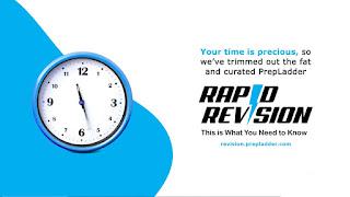PrepLadder Rapid Revision Notes