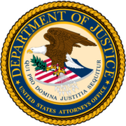 US Attorneys Office - US Department of Justice's Logo