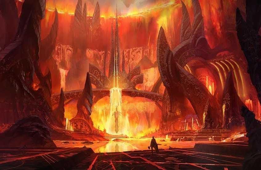 Muspelheim, o Mundo Primordial do Fogo