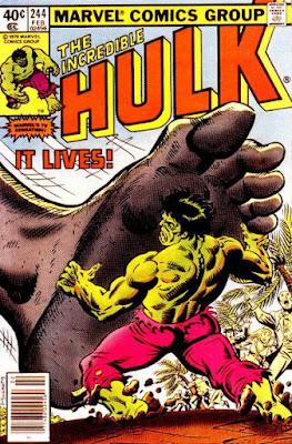 Incredible Hulk #244, IT lives!