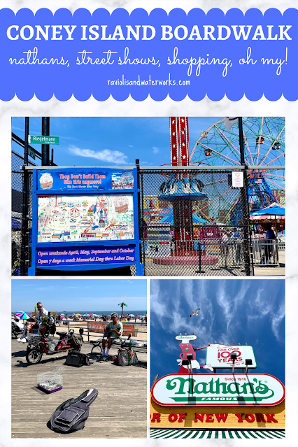 nathans in coney island and free amusement park to enter