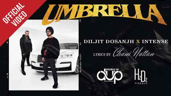 diljit dosanjh umbrella song lyrics
