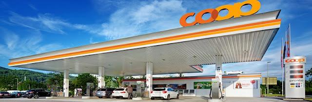 Posto de gasolina em Zurique
