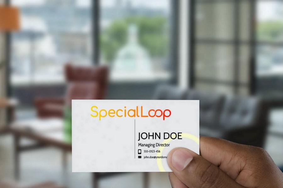 Special Loop Mock Card