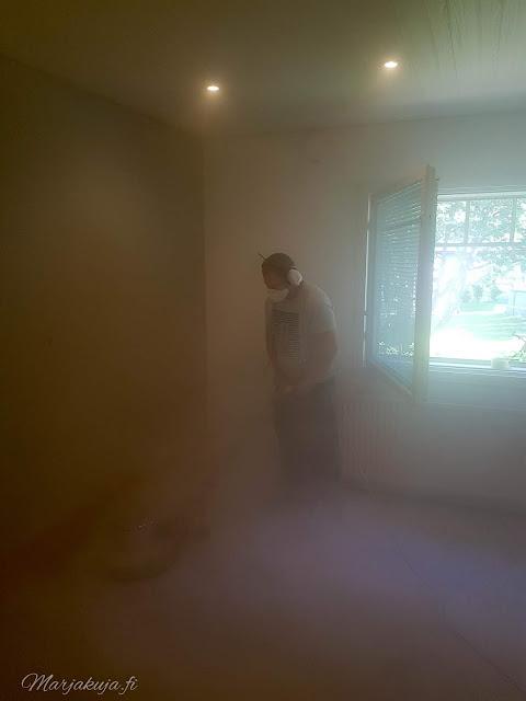 makuuhuone remontti