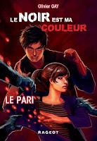 Couverture du livre Le noir est ma couleur 1 de Olivier Gay