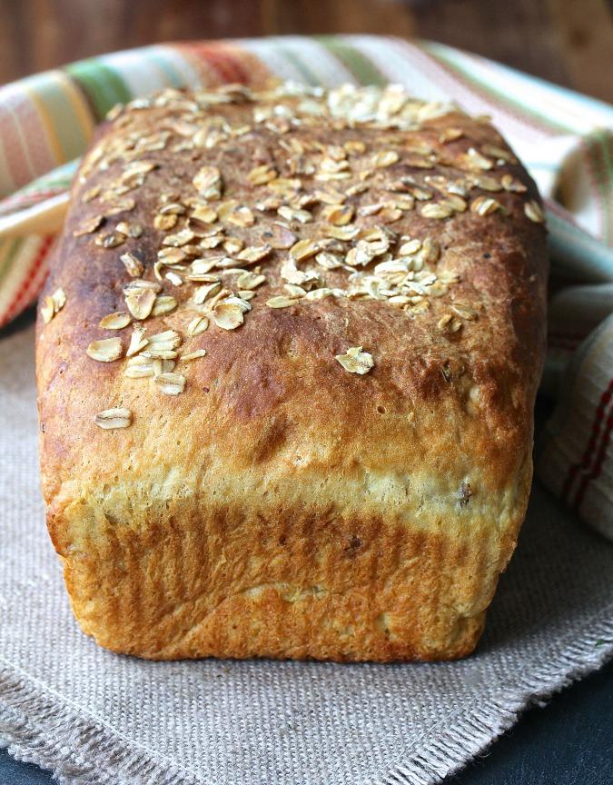 Oat and Potato Bread