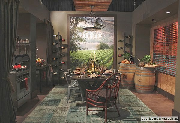 vineyard kitchen decor ikea metal shelves decorating themes tuscan tuscany elegant style wall mural stickers themed accessories