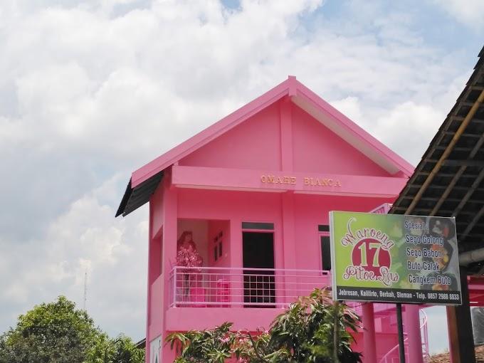 Omahe Bianca, Spot Selfie Baru Ala Rumah Barbie di Jogja