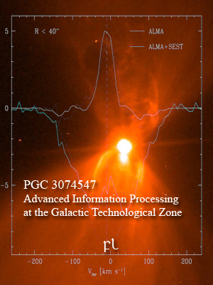 PGC 3074547 - Advanced Information Processing at the Galactic Technological Zone Cover