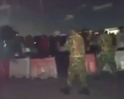 Nigerian Soldiers denies shooting protesters at Lekki Toll Gate