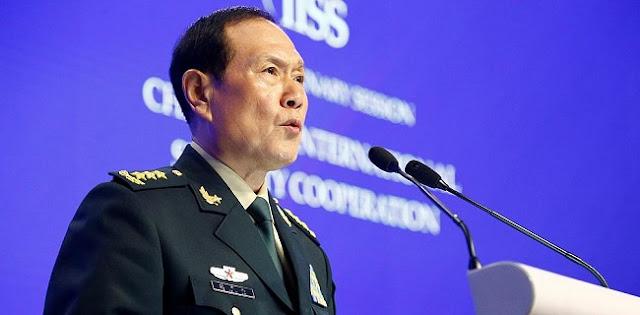 Marah Menkes AS Kunjungi Taiwan, Menhan China Langsung Telepon Pentagon