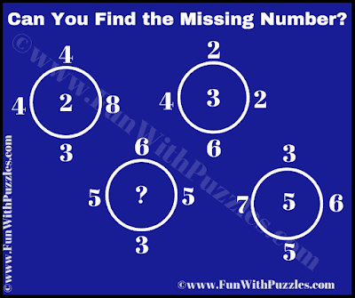Solve it to find the missing number which replaces the question mark.