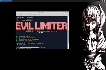 Cara Install Tools Evillimiter