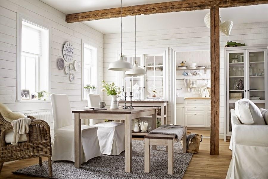 Świeże, przytulne wnętrze w bieli i szarości, wystrój wnętrz, wnętrza, urządzanie domu, dekoracje wnętrz, aranżacja wnętrz, inspiracje wnętrz,interior design , dom i wnętrze, aranżacja mieszkania, modne wnętrza, IKEA, białe wnętrza, szarości, szary, styl skandynawski, scandinavian style, stół