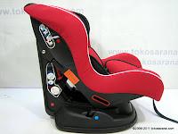 Pliko PK717B Baby Car Seat - Forward and Rear Facing