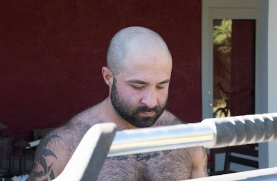 Hairy Male Actor Atlas Grant