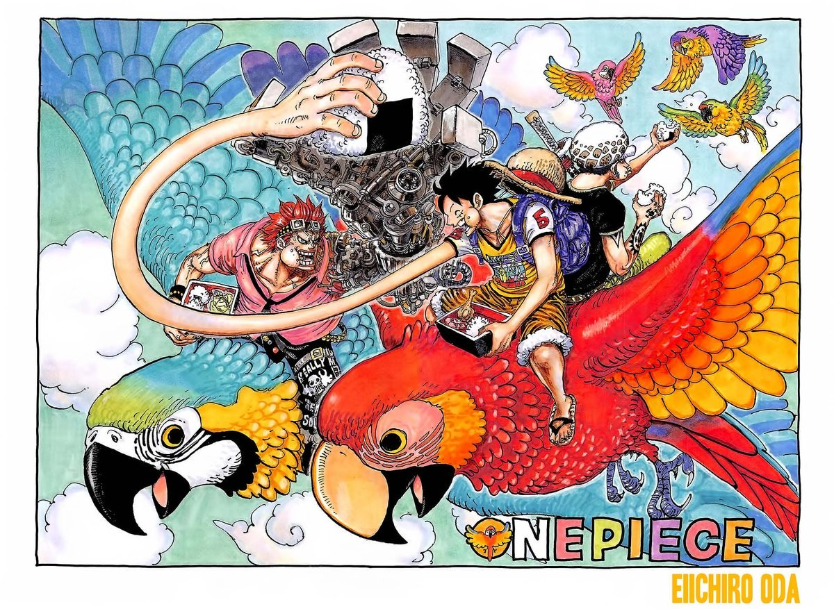 One Piece Manga Chapter 985 - Image 002