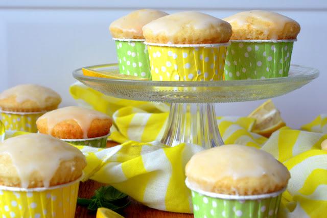 muffiny%2Bcytrynowe Muffiny jogurtowo-cytrynowe