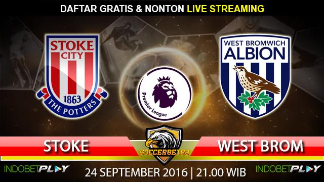 Prediksi Stoke vs West Brom 24 September 2016 (Liga Inggris)