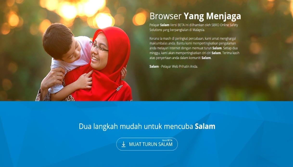 Salam Browser - Pelayar Web Patuh Syariah