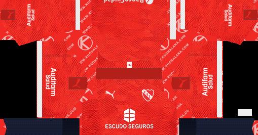 Independiente 2019/2020 Kit - Dream League Soccer Kits ...