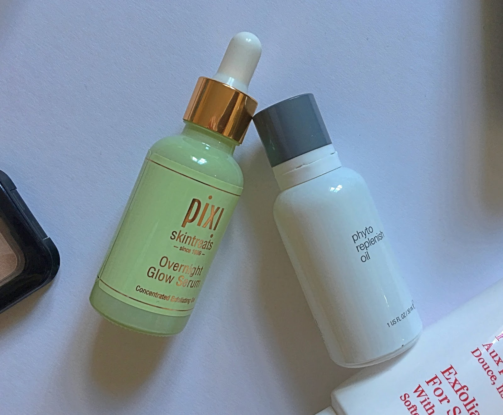 Pixi Overnight Glow Serum + Dermalogica Phyto Replenish Oil - Aspiring Londoner