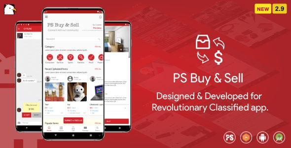 PS BuySell mobile appe-Android Bulletin Board Application