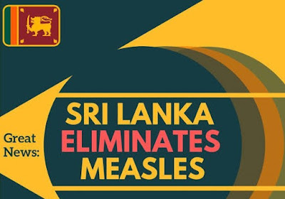WHO declares Sri Lanka 'measles-free' nation